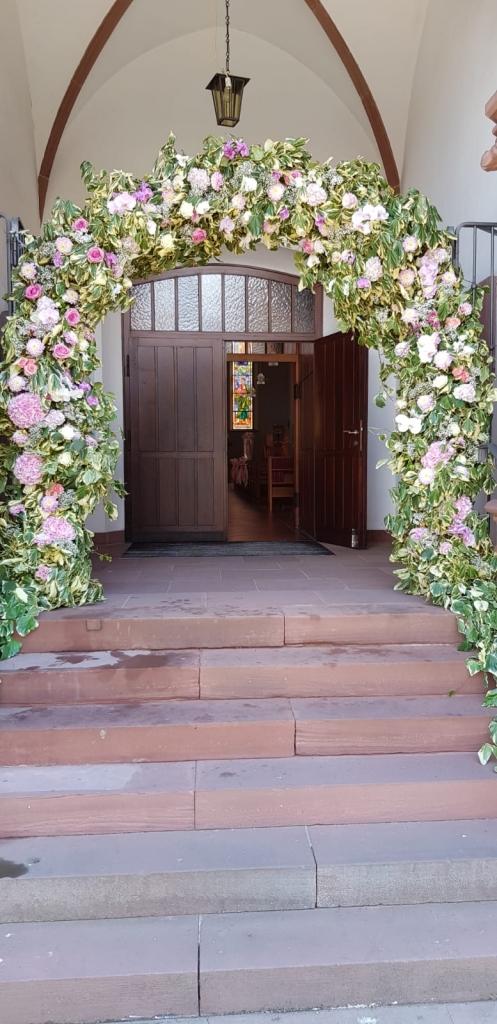 Blumen Prelisauer - Dekoration Hochzeit