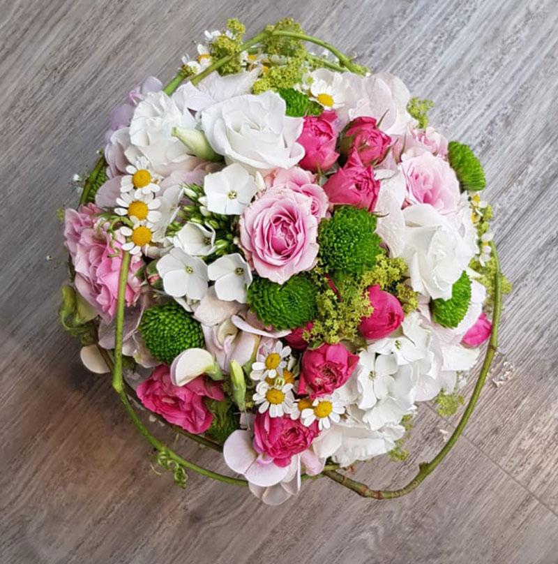 blumenstrauss ueber fleurop von Blumen Prelisauer